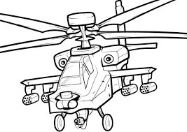 Small Picture Free Printable Helicopter Coloring Pages For Kids