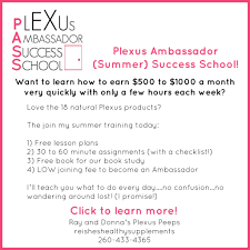 Learn To Be A Plexus Ambassador Easily Donna Reish