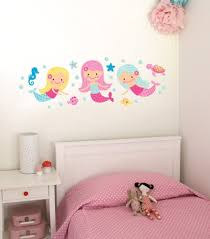 mermaid wall stickers gallery home wall decoration ideas