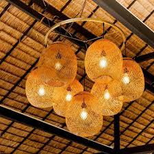 bamboo pendant light pendant lighting