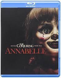 Annabelle Blu Ray Disc 2015 Warnerbros Movies Dvd