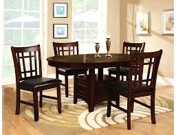 th brick furniture 5 piece chocolate dining package the austin mn hours oldbrick21 furniture