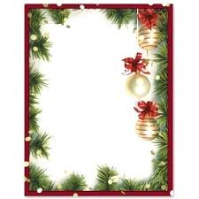 Christmas Stationery Templates Word Letter Template For Kids