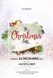 Free Christmas Flyer Templates Download Free Download Magical Christmas Psd Template Flyer Free