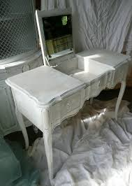 french apartment vanity make up table vintage poppy