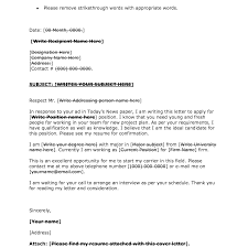 Cover Letter Design Well Written Sample Cover Letter For Unknown