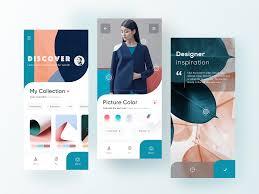Dribbble Design Designer Inspiration App By Michelle For Fireart Studio On
