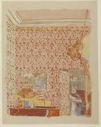 Interieur Met Roze Behang I Museum Boijmans Van Beuningen