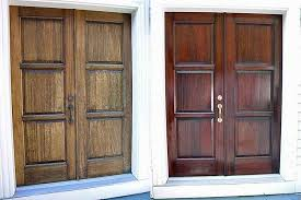 how to refinish front doorMahogany Front Door Refinishing  SCOTT DOYLE INC