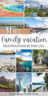 family vacation spots in the us for 2021