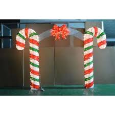 Candy Cane Yard Decorations Candy Cane Lane Christmas Yard Decorations Outdoor Christmas 39