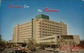 NEVADA NV LAS Vegas Riviera Hotel Strip Postcard Old Vintage Card View  Standard - $3.25 | PicClick