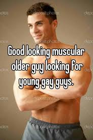 Older dudes with young gay guys
