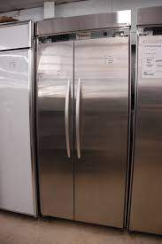 kitchenaid stainless steel 20 9 cu ft side by side refrigerator orlando appliance s