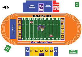 Illinois Seating Chart Football Seating Charts Western Illinois University Athletics