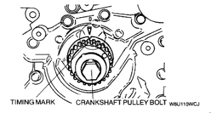 further Repair Guides   Engine Mechanical  ponents   Timing Belt 6 furthermore Repair Guides   Engine Mechanical  ponents   Timing Belt 6 besides How to replace my timing belt on mazda mx3 1992 can you help me in addition  furthermore 1997 Mazda MPV Serpentine Belt Routing and Timing Belt Diagrams furthermore  in addition Ford Probe timing belt and water pump replacing   YouTube furthermore  also I need a timing belt diagram for a 2001 Mazda Millenia moreover . on mazda millenia timing belt repment