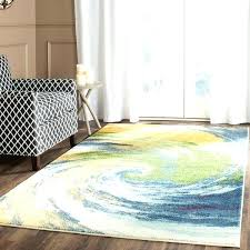 safavieh ikat ivory blue area rug evoke vintage abstract swirl gold distressed 4