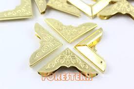 20pcs 30mm large gold book corner bookbinding corner clip bookcor8