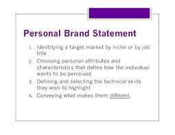 Related Image Personal Brand Statement Personal Branding