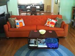 Orange Couch Living Room The Orange Couch
