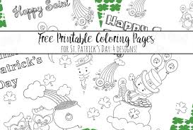 This is free so there is nothing to worry. Free Printable St Patrick S Day Coloring Pages 4 Designs