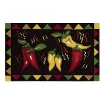 photo 2 of 5 chili pepper kitchen rug e up your kitchen decor at sears charming chili pepper