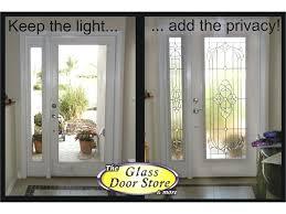 glass front doors. Privacy For Glass Front Door Exterior With Sidelight Doors