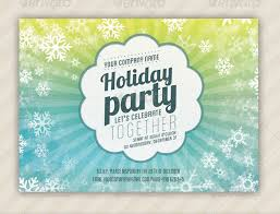 Office Party Invitation Templates Impressive Holiday Invitation Template 48 PSD Vector EPS AI PDF Format
