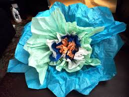 Large Tissue Paper Flower Giant Tissue Paper Flowers 5 Steps With Pictures