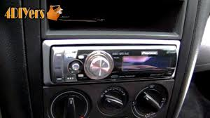diy installing an aftermarket stereo into your vehicle youtube 2001 jetta monsoon radio wiring diagram at 2000 Jetta Tdi Radio Wiring Diagram