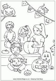 Small Picture Halloween Vocabulary Coloring Pages Tricky Words Word Search