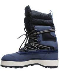 Adidas by stella mccartney Winter Quilted Nylon Snow Boots in Blue ... & Adidas By Stella McCartney   Winter Quilted Nylon Snow Boots   Lyst Adamdwight.com