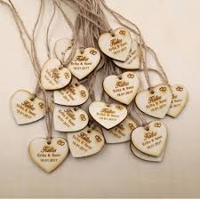 thank you tags for wedding favors wholesale personalized wedding favor tags rustic bridal shower