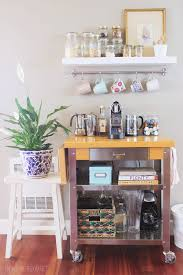 office coffee cart. Townhouse Update {New Coffee Cart} Office Cart
