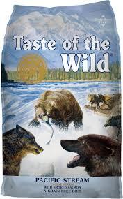 Taste Of The Wild Pacific Stream Grain Free Dry Dog Food 5 Lb Bag