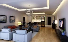 living room lighting design. White Ceiling Led Strip Light And Unique Metal Pendant Lamp For Living Room Lighting Design E