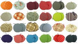 endearing outdoor bistro chair pads with round stool seat pads whole round chair cushions