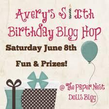 Happy Birthday Avery Happy Birthday Avery Its A Blog Hop Just For You Valbydesign