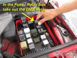 my porsche is not starting need help to fix it 1st thing to check is the condition of the ecu fuse and the rather troublesome dme relay both should be located in the under bonnet fuse box