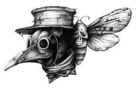 сообщество иллюстраторов иллюстрация чумной доктор