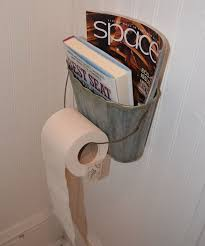 Magazine Holder Uses Clever Toilet Paper Storage or Holder Ideas Hative 51