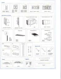 Kitchen Upper Cabinet Height Kitchen Cabinet Sizes Chart