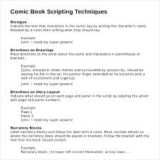 Movie Script Example Example Of A Script Rome Fontanacountryinn Com