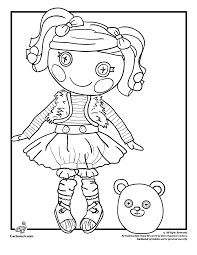 Small Picture Mittens Fluff N Stuff Doll Lalaloopsy Coloring Page Woo Jr