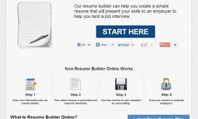 Free Resume Maker Make Your Resume Online 25 Online Resume Builder