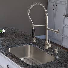 Impressing Awesome Stainless Steel Kitchen Faucet With Pull Down