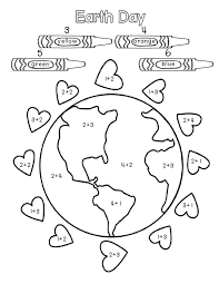 Collections of Earth Day Worksheets For Preschool, - Easy ...