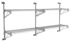 chrome wire shelving and chrome wire