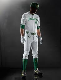 Nike Vapor Elite Baseball Uniform Oregon Ducks Sports Design