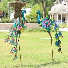 unique metal garden decor ideas